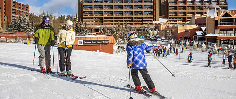 ski in/ski out at Beaver Run