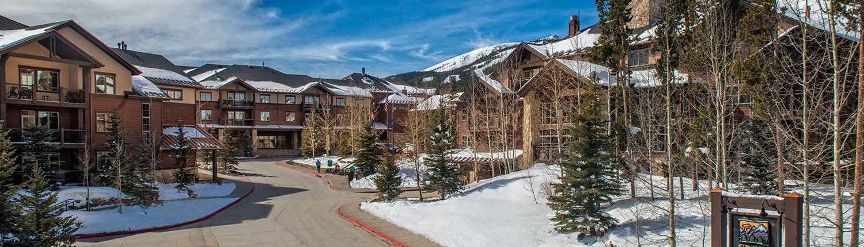 Grand Timber Lodge winter exterior