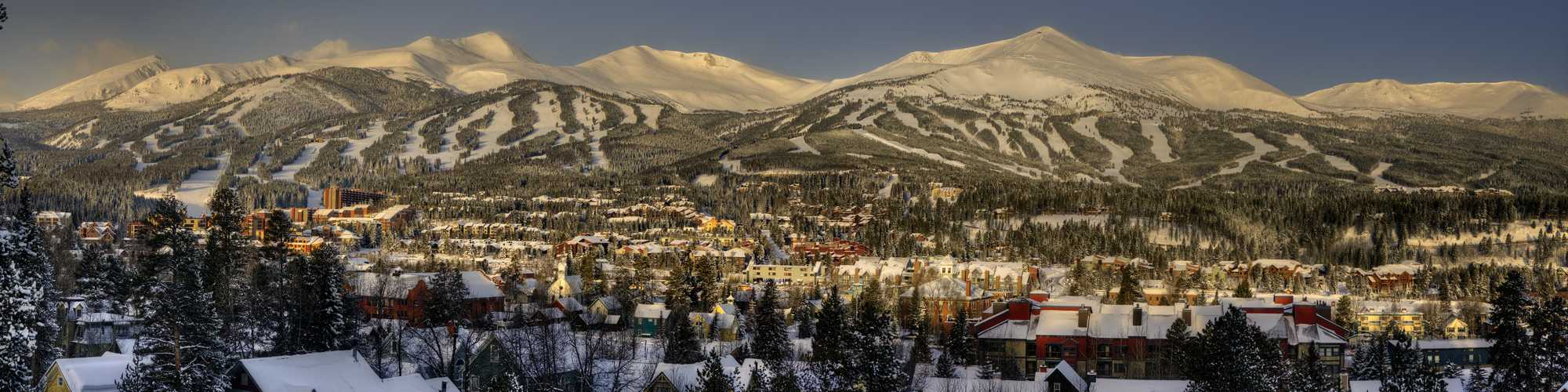 Snowy town of Breckenridge