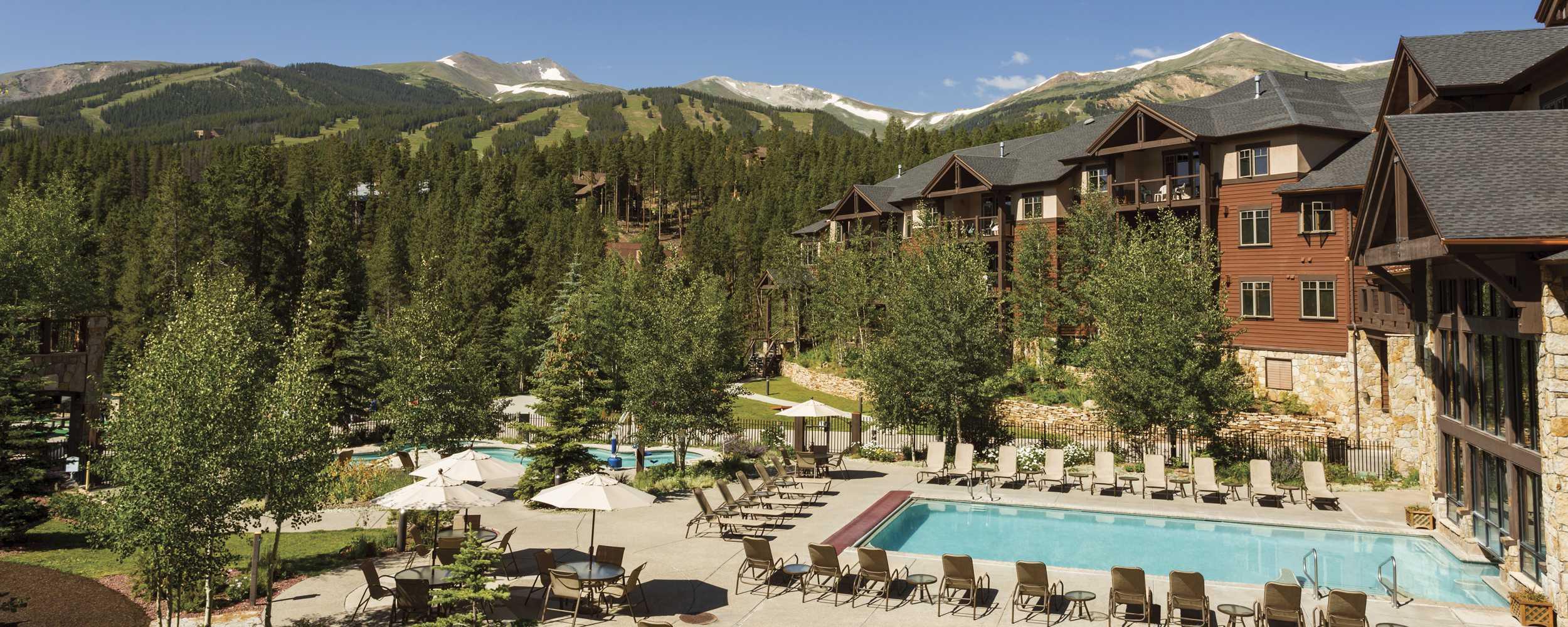 Summer at Grand Timber Lodge