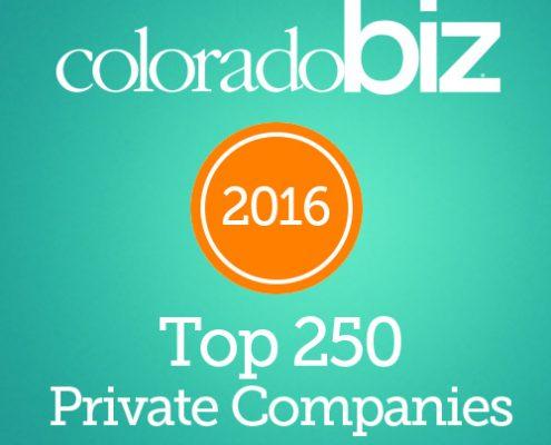 Colorado Biz 2016 top private companies