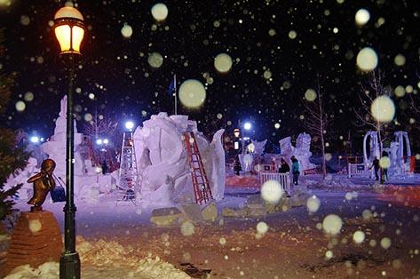 BreckenBreckenridge International Snow Sculpturesridge International Snow Sculptures